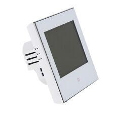 Digital Thermostat LCD Raumthermostat Fußbodenheizung Wandheizung LED weiß