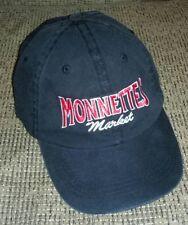 MONNETTES MARKET baseball hat cap TOLEDO OHIO PROMO vegetable health food store