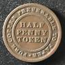 Canada 1813 Half Penny Token Un Sou NS-21A3 / Breton 965 / J-029