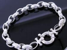 Chain Sterling Silver 20 - 21.49cm Length Fine Bracelets