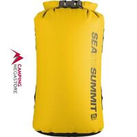 SEA TO SUMMIT DRY SACK 20 LITRE YELLOW ( 70D WATERPROOF FABRIC)