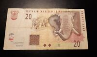 2005 - South African Reserve Bank - 20 Rand Banknote/ Bill No. HE 0267880 B