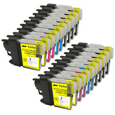 20 NON-OEM INK CARTRIDGE BROTHER LC-61 MFC-5490CN MFC-5890CNMFC-6490CWMFC-790C