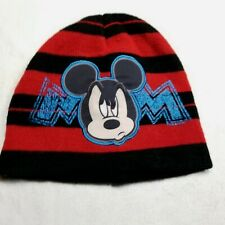 Disney Toddler Boys Mickey Mouse Knit Hat Winter Toddlers Acrylic Beanie
