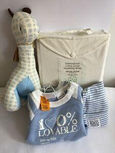 Organic Baby Boy Gift Set