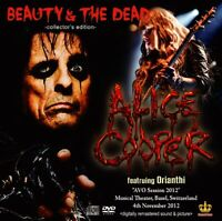 ALICE COOPER FEATURING ORIANTHI BEAUTY AND THE DEAD 2012 1CD 1DVD SB-146LE