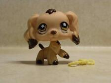 Littlest Pet Shop LPS #575 Cocker Spaniel with Flower Eyes