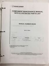 Citation CE550 Bravo Original Seat Component Maintenance Manual With Parts List
