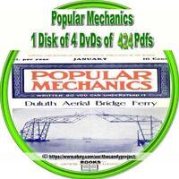 Popular Mechanic Magazines PDF Henry Haven Windsor 4 DVDs   1st in Series of 3