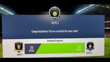 Fifa 19 - FUT CHAMPIONS WEEKEND LEAGUE - ELITE 3 - PS4