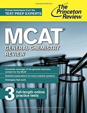 MCAT General Chemistry Review: New for MCAT 2015 (Graduate School Test Preparati