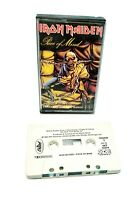 Iron Maiden Piece of Mind Heavy Metal Cassette Tape 1983 Capital Tested Works