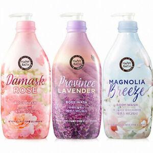 AMORE PACIFIC HAPPY BATH Essence Body Wash Rose/Lavender/Magnolia 900g K Beauty