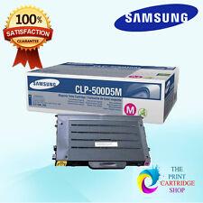 New & Original Samsung CLP-500D5M Magenta Toner Cartridge CLP500 CLP500N CLP550