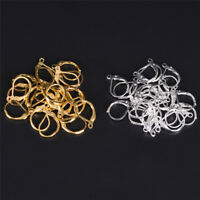 50PCS/100PCS French Earring Lobster Clasps Hooks Findings DIY Jewelry G$