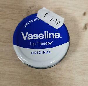 Vaseline Original Lip Therapy Balm