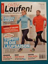 aktiv Laufen! 02/2017 März/April  ungelesen 1A absolut TOP