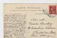 France Fontainebleau 1909 Forest Picture Stamps Post Card to Frankfurt Ref 32146