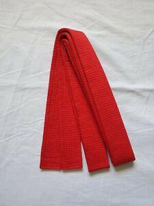 New Size 0 RED Taekwondo Belt Karate Judo Martial Arts