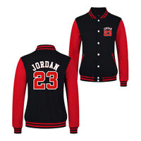 NEW Mens Michael Legend Air 23 Jordan Baseball Jacket Fashion Man Stylish Coat