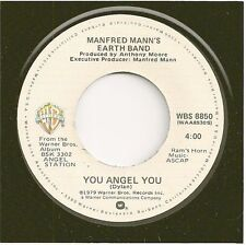 "MANFRED MANN'S EARTH BAND 45 You Angel You / ""Belle"" Of The Earth - NM"