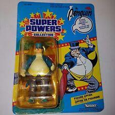 Kenner 1985, Super Powers Collection, Penguin (Bi-Lingual) Action Figure, MIB