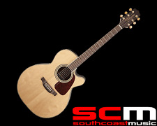 RRP$899 Takamine GN71CE NAT NEX Acoustic-Electric Guitar With Pickup Natural