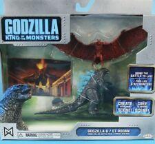 Jakks Pacific Godzilla Vs Rodan Set BNIB