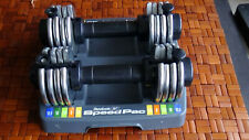Reebok Speed Pac 25 Dumbbell Set Of 2 12.5 LB Each Adjustable Weights