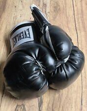 Everlast 12oz Black White Advanced Training Boxing Gloves Mitt Work Heavy Bag
