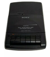 Sony TCM-929 Cassette Player Recorder Portable Tape Recorder Auto Shut Off H1