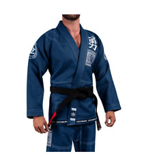 Jiujitsu Uniform Hayabusa Goorudo3 Gold Weave BJJ GI Brazilian Genuine Blue