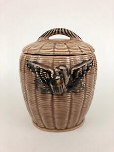 vintage McCoy Pottery Co. Mid-Century Modern, ceramic cookie jar c.1967