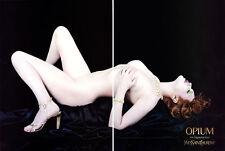 2001 YSL Yves Saint Laurent Opium Sophie Dahl Tom Ford MAGAZINE AD