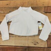 Zella Girls Youth Long Sleeve Shirt Sweater Crop Size Large New NWT B119