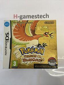 Nintendo Ds Pokemon Or Heart Gold Collector Sans Pokewalker Fr