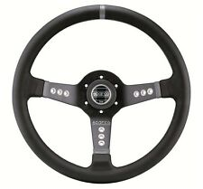 """SPARCO L777 STEERING WHEEL 350MM 13.78"""" DIAMETER WITH 63MM 2.48"""" DISH CONCAVE"""