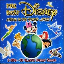 THE BEST DISNEY IN THE WORLD...EVER CD NEU