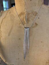 NY & Co. Fringe Necklace