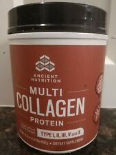 Antient Nutrition Formula Multi Collagen Protein 16.2 oz 5 Type Of Col. Opened