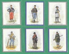 VICTORIA  GALLERY - 50  SETS OF L 20 UNIFORMS OF THE AMERICAN CIVIL WAR CARDS