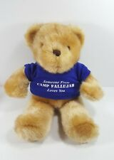 "It's All Greek To Me 12"" Teddy Bear Someone From Camp Fallujah Loves You Plush"