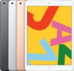 """Apple iPad 10.2"""" 7th Gen 32/128GB (Wi-Fi + Cellular) - All Colors - Excellent"""