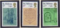 St. Helena Stamp Set Scott #338-40, Mint Never Hinged MNH