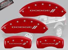 "2007-2010 ""Dodge //"" Nitro Front + Rear Red Engrave MGP Brake Disc Caliper Cover"