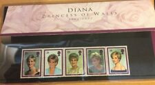 Diana Princess Of Wales, Royal Mail Mint Stamps Package, New