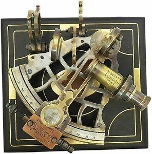 Brass Navigation Instrument Sextant Navigation Marine Sextant Replica