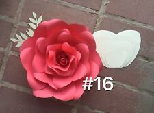 Hard Copy #16 Paper Flower Template, DIY Giant flowers, Backdrops, Decor
