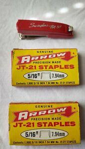 "Vintage Swingline tot 50"" stapler with Staples"