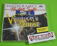 Warlock's Quest Atari ST nuevo embalaje original en lámina new box Atari 520-1040 St RPG Action